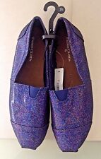 New! NWT Faded Glory INDBLU Sparkly loafers shoes ladies ~Sz. 7.5