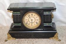 Antique Seth Thomas Adamantine Mantle Clock ~ Running ~ C. A. Late 1800's