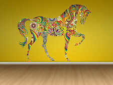 ced191 Full Color Wall decal Sticker horse abstraction bedroom kids nursery