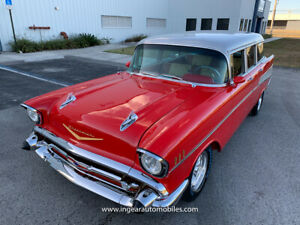 1957 Chevrolet Bel Air/150/210 Station Wagon Fully Built! SEE VIDEO!