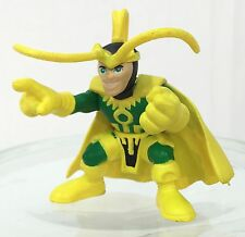 Marvel Super Hero Squad LOKI First Release in Yellow / Green Costume from Wave 5