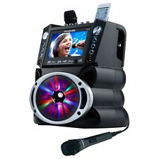 """DVD/CDG/MP3G Karaoke Machine with 7"""" TFT Color Screen, Record, Bluetooth and ..."""