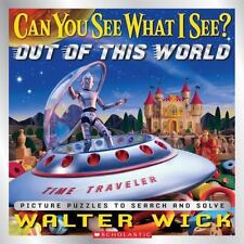 Kids fun hardcover:Can You See What I See?Out of This World-Picture Puzzle-I Spy