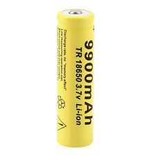 NEW 3.7V 18650 9900mah Li-ion Rechargeable Battery For LED Flashlight Torch UL