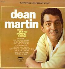 Dean Martin LP Pickwick, 196?, SPC-3089, I Can't Give You Anything But Love ~ EX