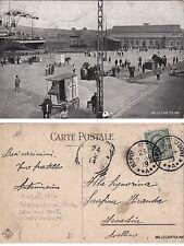 # NAPOLI: STAZIONE MARITTIMA movimentata  1914