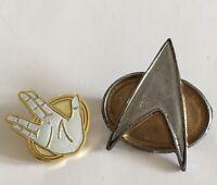 Star Trek The Next Generation Comunicator Pin Spock Live Long And Prosper A475