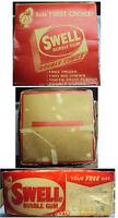 1950s/60s Swell Bubblegum Counter Display Box Empty & Bubble Buck Prize Catalog