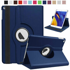For iPad 7th 6th 5th Pro 12.9 11 Air Mini 7.9 Rotating Folio Smart Leather Case