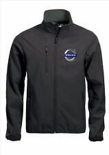VOLVO Softshell Jacket Coat Negro Bordado De Calidad Tallas S - 5XL