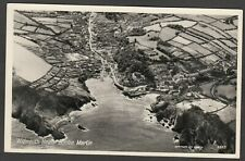 Postcard Combe Martin nr Ilfracombe Devon aerial view of Widmouth Head RP