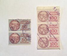 5 Consular Stamps France