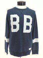 BJORN BORG Sweatshirt Tennis Heather Blue Lynx Sweater BB Logo Men's S RARE