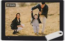 WayGoal 10 Inch Digital Picture Frame + 16GB USB Flash Drive, 1920x1080 Full HD