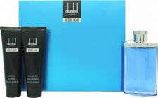 Dunhill Desire Blue 3PC G/Set EDT 100ml After Shave Balm Shower Gel 90ml EA New