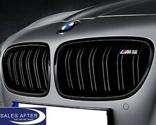 Original BMW M PERFORMANCE Ziergitter Nieren F10 M5 schwarz Frontgrill auch F11
