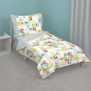 Teepee 4 Piece Toddler Bedding Set by Zutano - See Details
