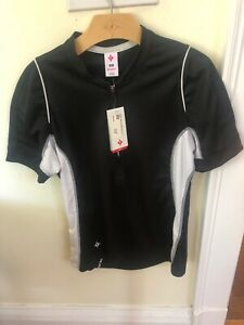 New-Old-Stock Specialized Women's Shasta Jersey Size S or M Black or White/Teal