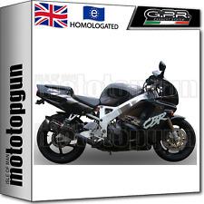 GPR EXHAUST BOLT-ON HOM FURORE BLACK HONDA CBR 900 RR FIREBLADE 1998 98 1999 99