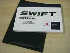SUZUKI SWIFT  2006-2010   UK OWNERS MANUAL HANDBOOK PACK AND WALLET