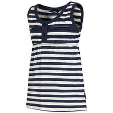 Gestreifte ärmellose Mädchen-T-Shirts & -Tops aus Baumwollmischung