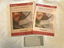 Husqvarna Viking Designer Ii Stitch D-Card H1 Scallop Stitches
