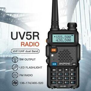 Baofeng UV-5R Funkgerät 8W VHF UHF FM Transceiver Ham Walkie Talkie x1