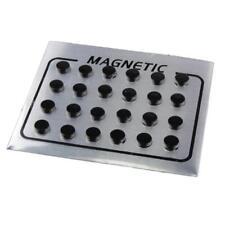 D9C7 Magnetische Fußkette Gewichtsverlustkette Schwarz Herren Geschenk Für