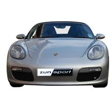 Zunsport Black front lower outer mesh grille kit Porsche Boxster 987.1 05-08