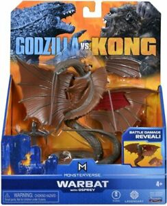 "WARBAT with OSPREY MonsterVerse FIGURE Hollow Earth Godzilla vs Kong 15cm 6"""