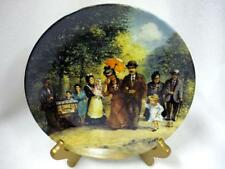 MIB COLLECTOR PLATE SUNDAY HOLIDAY WEEK OF THE FAMILY KAPPELMANN NITSCHKE BERLIN