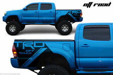 Vinyl Graphics Decal Tacoma TRD OFFROAD Wrap for Toyota Tacoma 05-15 Matte Black
