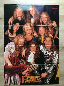 The Kelly Family / Backstreet Boys - Bravo-Poster, 90er Jahre, 0,80 x 0,55 m