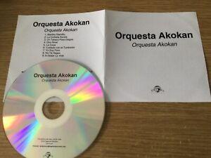 Promotional cd album- Orquesta Akokán – Orquesta Akokán