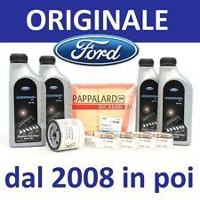 KIT TAGLIANDO FILTRI + OLIO + CANDELE FORD B-Max Fiesta 6 VI 1.25 1.4 1.6 Ti