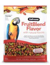 New listing ZuPreem Fruit Blend Diet for Large Birds 3.5-Pound Bird Food