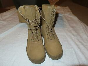 ROCKY RKC065 C7 COMBAT BOOTS SUMMER HOT WEATHER COYOTE BROWN SIZE 8 1/2 W NWT