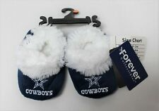 NFL Officially Licensed Dallas Cowboys Logo Baby Bootie Slipper 6-9 Months