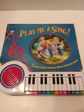 Play Me A Song With Electronic Piano 1998 Tormont Publications