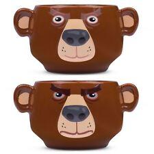 Bear color Cara Taza Cambiante calor taza para té y café
