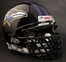 RAY LEWIS BALTIMORE RAVENS Schutt ROPO-DW-STG Football Helmet FACEMASK - BLACK