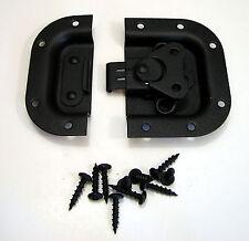 NEW Penn Elcom 3758BK Recessed Butterfly Latch Rack & Pedal Board Case, Black