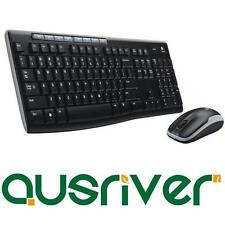 Logitech MK270 Wireless Keyboard and Optical Mouse Combo USB Receiver Cordless