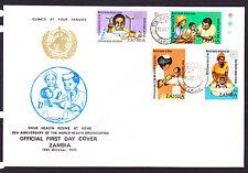 ZAMBIA   FDC 1973 W.H.O.