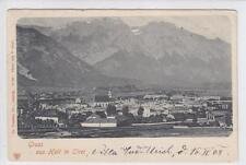 AK Hall in Tirol, Panorama, um 1900