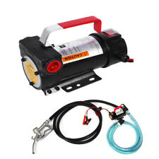 12V Diesel Fluid Extractor Electric Fuel Transfer Pump Car Boat Engine Oil