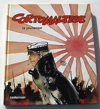 CORTO MALTESE . LA JEUNESSE DE CORTO . EO . HUGO PRATT . BD CASTERMAN  . 1985