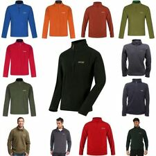 Fleece Zip Neck Pull Over Regular Coats & Jackets for Men