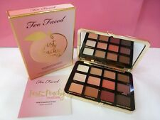 Too Faced Just Peachy Mattes Velvet Matte Eye Shadow Palette New 100% Authentic
