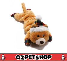 Christmas Merry Stretchmas Dog Toy - Bear